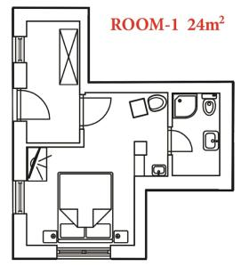 San Lorenzo Apartments, Penziony  Lovrečica - big - 32