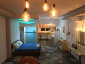 Seascape Apartment, Appartamenti  Faliraki - big - 13