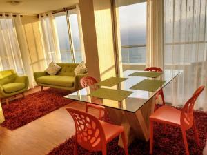 Exclusivo Departamento Con Vista Al Mar, Ferienwohnungen  Lima - big - 3