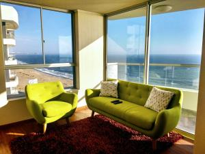 Exclusivo Departamento Con Vista Al Mar, Apartments  Lima - big - 2