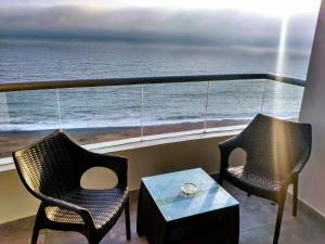 Exclusivo Departamento Con Vista Al Mar, Ferienwohnungen  Lima - big - 16
