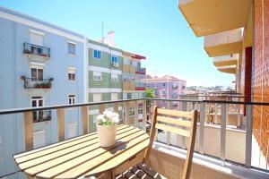 Akicity Marques Star III, Apartmanok  Lisszabon - big - 5