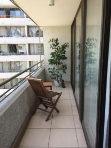Apartamento Parque Bustamante, Appartamenti  Santiago - big - 1
