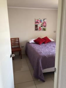 Apartamento Parque Bustamante, Appartamenti  Santiago - big - 3