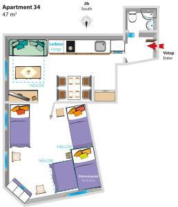 Apartmány SKLEP, Apartments  Prague - big - 41