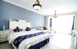 Ruicao Seaview Apartment Qinhuang International Branch, Apartmanok  Csinhuangtao - big - 5