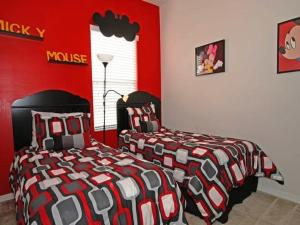Oakwater Resort Three Bedroom Apartment K27, Апартаменты  Орландо - big - 8