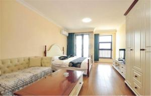 Ruicao Seaview Apartment Ocean Harbour Plaza, Appartamenti  Qinhuangdao - big - 2