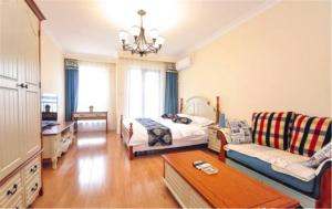 Ruicao Seaview Apartment Ocean Harbour Plaza, Appartamenti  Qinhuangdao - big - 5
