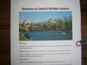 Central Windsor Rooms