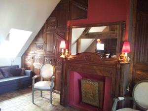 La Maison de Honfleur, Отели типа «постель и завтрак»  Онфлер - big - 19