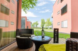 BalatonBee Apartman, Апартаменты  Балатонлелле - big - 4