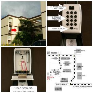 Tumon House, Apartments  Tumon - big - 5