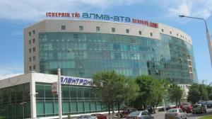 Apartment Valihanova street 1., Apartments  Astana - big - 11