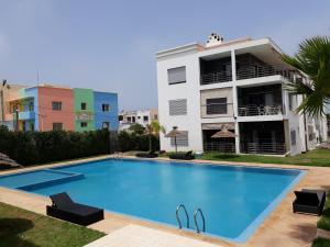 Résidence Galets sur Mer, Apartments  Dar Bouazza - big - 12