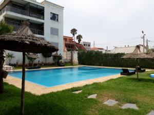 Résidence Galets sur Mer, Apartments  Dar Bouazza - big - 11