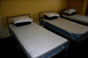 Seng på blandet 7-sengs sovesal