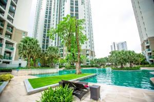 Grand Royal Eclipse Luxury, Apartments  Bang Kapi - big - 9