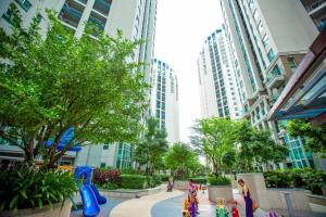 Grand Royal Eclipse Luxury, Apartments  Bang Kapi - big - 11