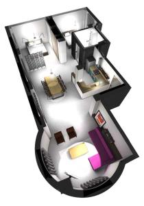 Luxurius modern stylish apartment, Apartments  Thessaloníki - big - 12