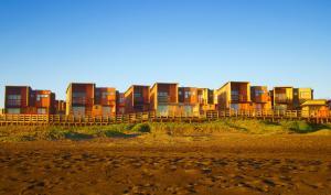 Casas Junto al Mar
