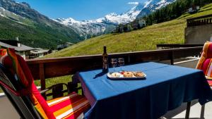 Haus Belle-Vue, Apartmány  Saas-Fee - big - 68