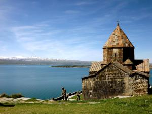 A Picture of Sevan lake cottage in Lavanda city