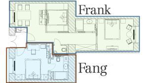 Frank & Fang Apartments, Апартаменты  Будапешт - big - 59
