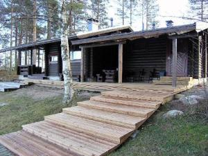 Holiday Home Rantamökki, hyvölän talo