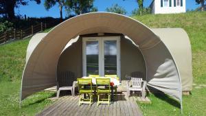 Camping le Mont Joli Bois, Kempingek  Criel-sur-Mer - big - 5