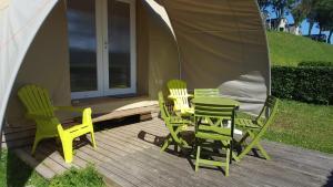 Camping le Mont Joli Bois, Kempingek  Criel-sur-Mer - big - 4