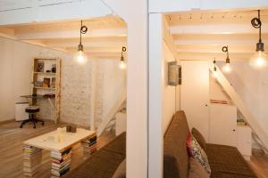 Budapest Central, The Book Room, Apartmány  Budapešť - big - 13