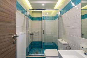 Blue Oyster Villas, Vily  Platanes - big - 15