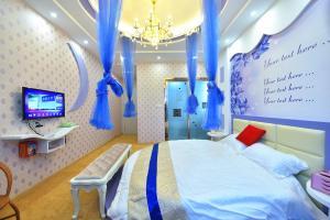Zhaoxiahong Art hotel, Alloggi in famiglia  Wujiaqiao - big - 62