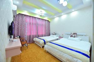 Zhaoxiahong Art hotel, Alloggi in famiglia  Wujiaqiao - big - 81