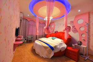Zhaoxiahong Art hotel, Alloggi in famiglia  Wujiaqiao - big - 31