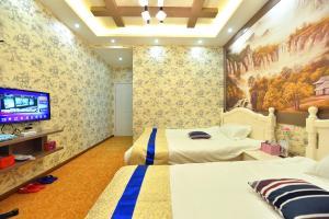 Zhaoxiahong Art hotel, Alloggi in famiglia  Wujiaqiao - big - 49