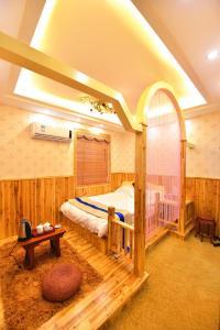 Zhaoxiahong Art hotel, Alloggi in famiglia  Wujiaqiao - big - 16