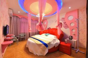 Zhaoxiahong Art hotel, Alloggi in famiglia  Wujiaqiao - big - 18
