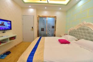 Zhaoxiahong Art hotel, Alloggi in famiglia  Wujiaqiao - big - 4