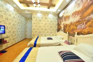Zhaoxiahong Art hotel, Alloggi in famiglia  Wujiaqiao - big - 42