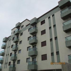 Apartamento De Frente Para o Mar, Ferienwohnungen  Mongaguá - big - 8