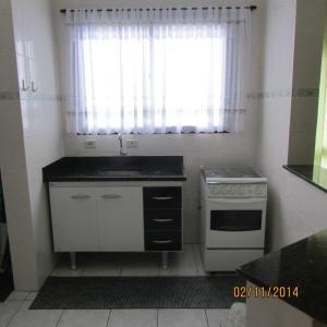 Apartamento De Frente Para o Mar, Ferienwohnungen  Mongaguá - big - 14
