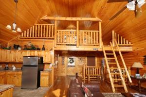 Howling Wolf - One Bedroom, Dovolenkové domy  Sevierville - big - 11