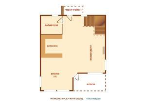 Howling Wolf - One Bedroom, Dovolenkové domy  Sevierville - big - 26