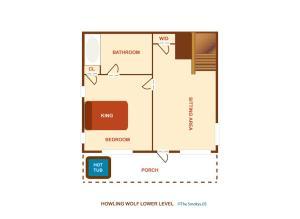 Howling Wolf - One Bedroom, Dovolenkové domy  Sevierville - big - 27