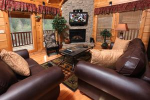 Moose-Behaving - Two Bedroom, Case vacanze  Sevierville - big - 12
