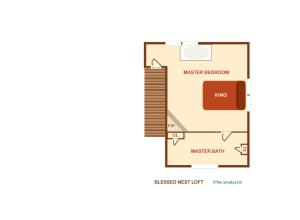 Blessed Nest - Four Bedroom, Holiday homes  Sevierville - big - 3