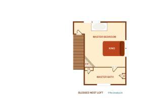 Blessed Nest - Four Bedroom, Ferienhäuser  Sevierville - big - 3