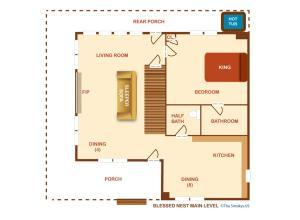 Blessed Nest - Four Bedroom, Ferienhäuser  Sevierville - big - 30